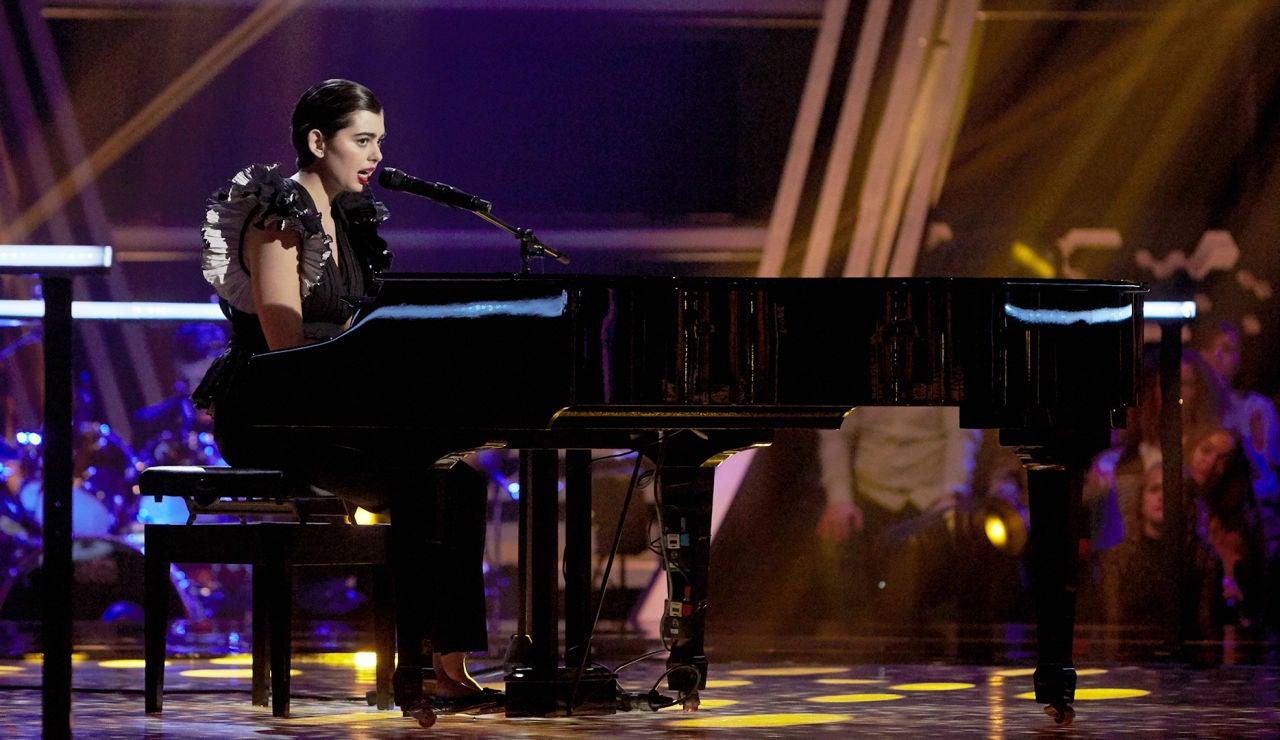 Paula Espinosa canta 'The scientist' en los Asaltos de 'La Voz'