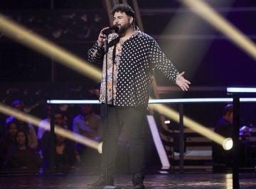 Rafael Ruiz canta 'En el lago' en los Asaltos de 'La Voz'
