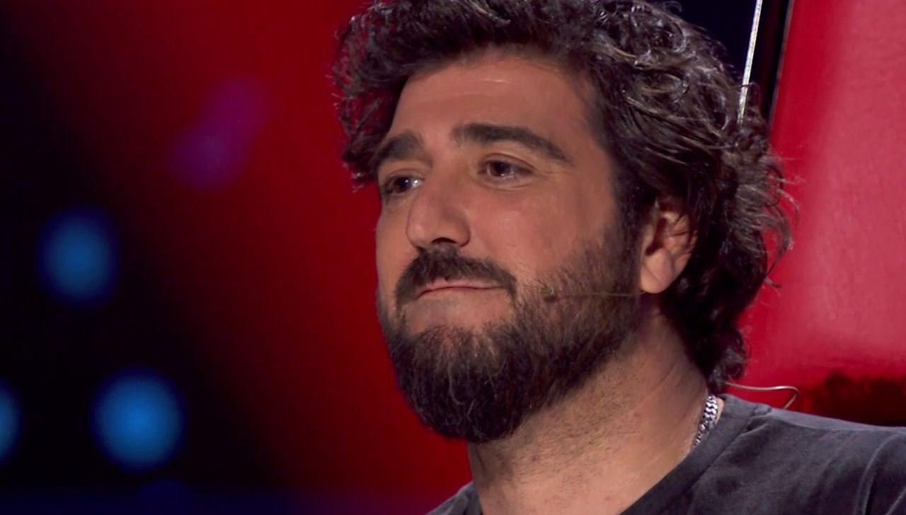Antonio Orozco se emociona al revelar la historia detrás de la canción más importante de su vida en 'La Voz'