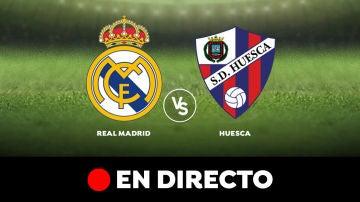 Real Madrid - Huesca: Partido de hoy de Liga Santander, en directo