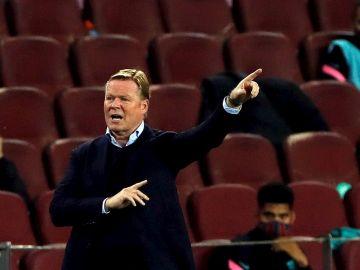 Koeman, entrenador del F.C.Barcelona