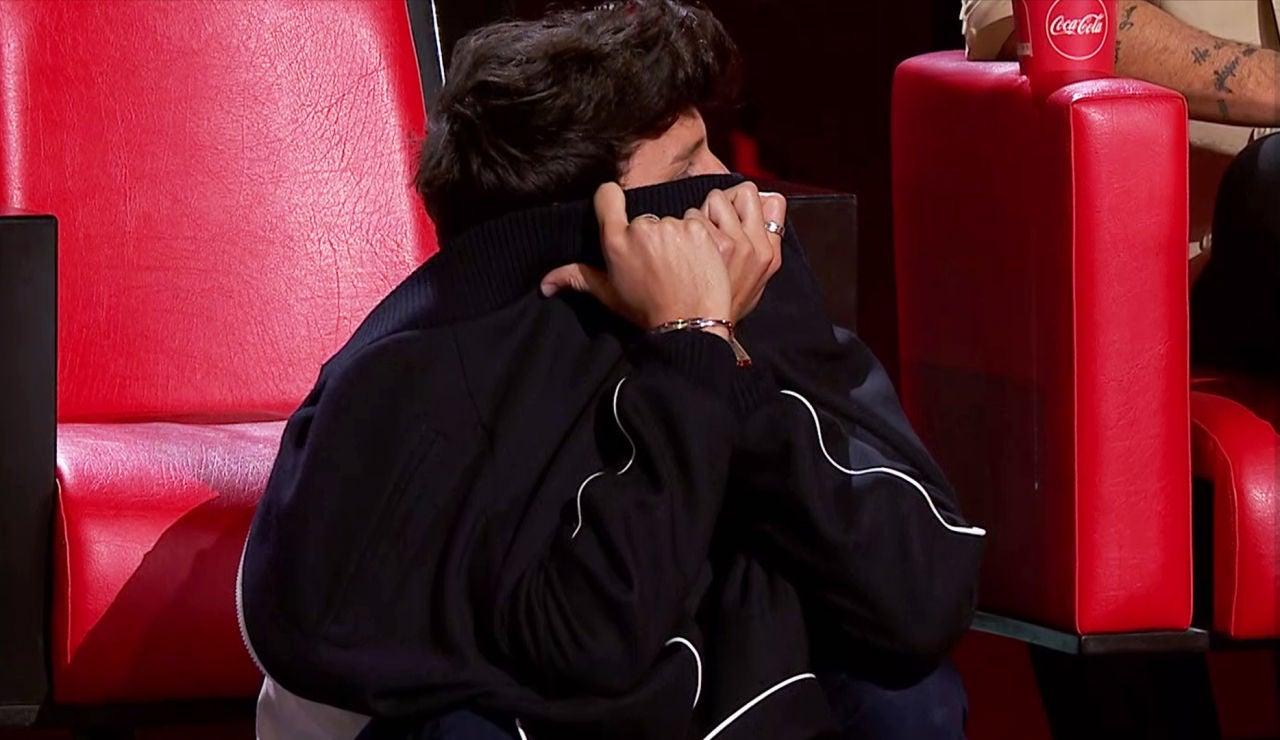 "Laura Pausini grita a Sebastián Yatra en 'La Voz': ""No defiendas a Tini"""