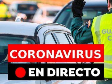 Últimas noticias del coronavirus en España: cierre perimetral, estado de alarma y toque de queda, en directo
