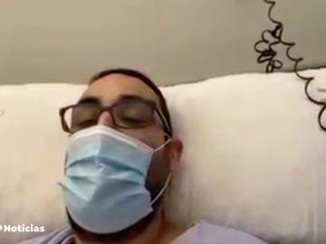 Juan, enfermo de coronavirus tras 10 días en la UCI: