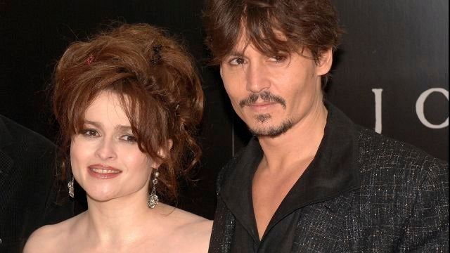 Helena Bonham Carter y Johnny Depp