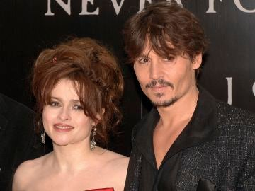 Helena Bonham Carter y Johnny Depp
