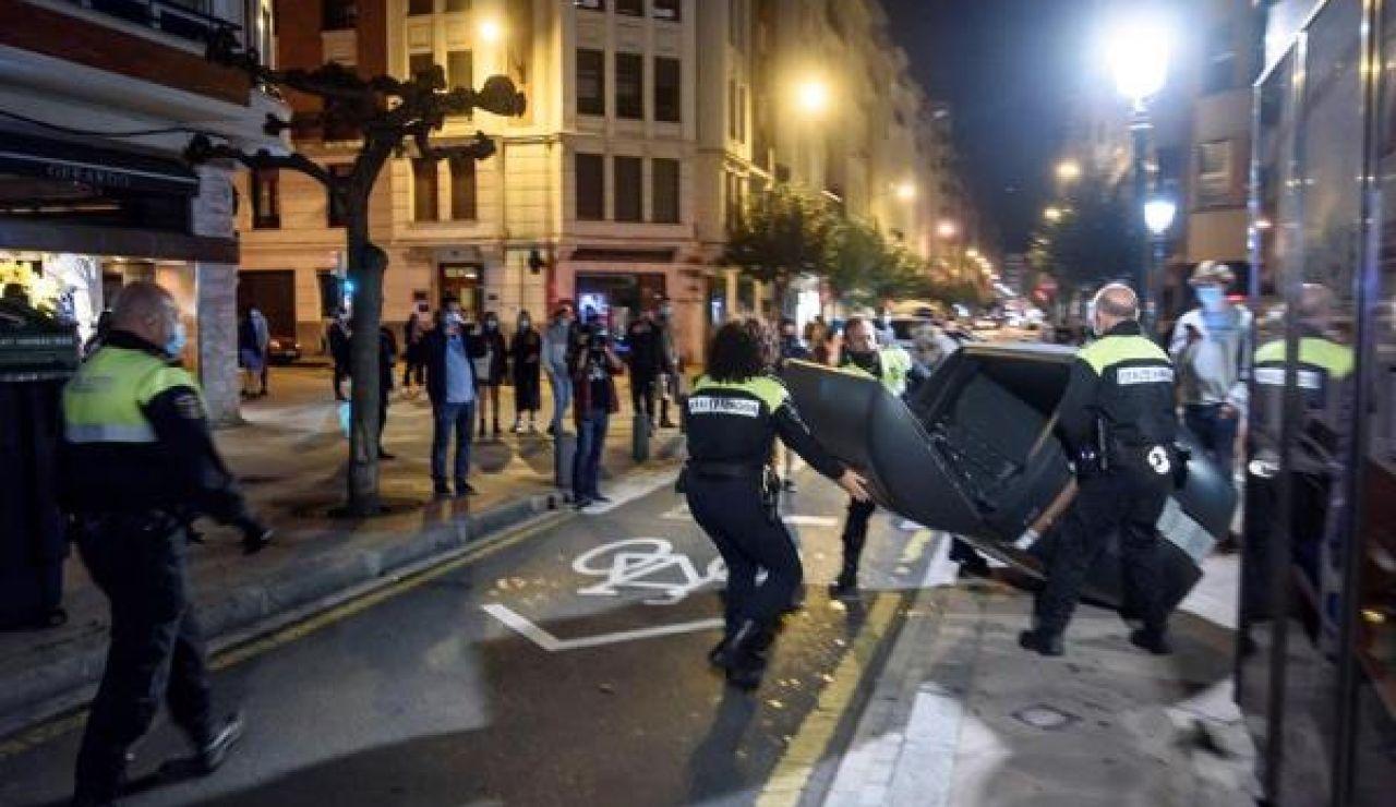 Disturbios en el País Vasco