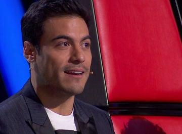 Carlos Rivera en 'La Voz'
