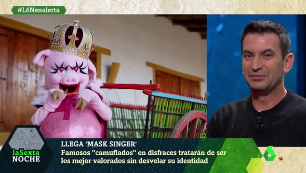 'laSexta Noche' revela la última pista sobre la Cerdita en 'Mask Singer: adivina quién canta'