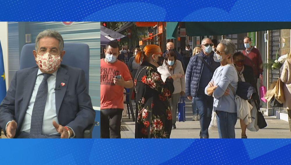 """Revilla dice que otro parón podría generar """"una catástrofe mucho más dañina que la sanitaria"""""""