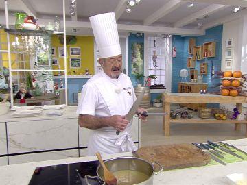 El truco definitivo de Karlos Arguiñano para afilar los cuchillos en tu cocina