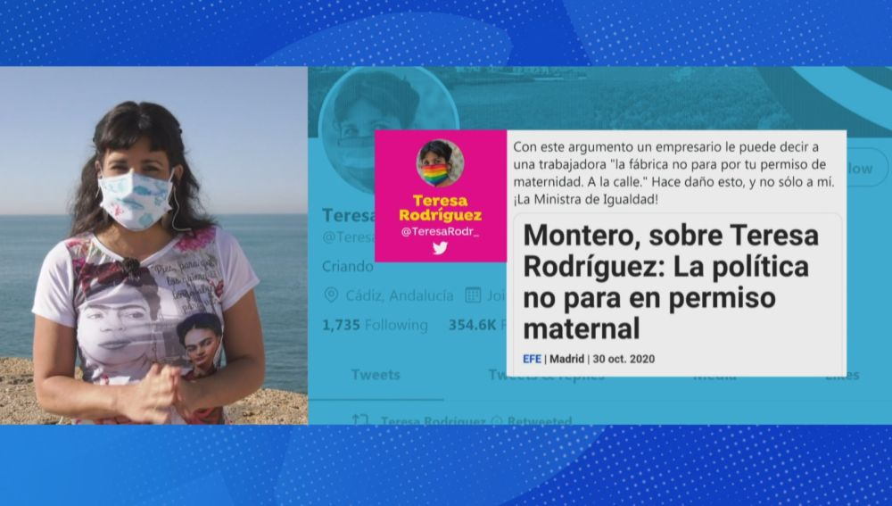 Teresa Rodríguez en Espejo Público