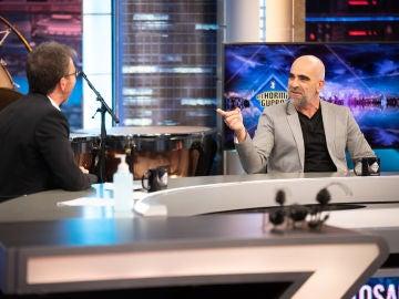 """El importante debate de Pablo Motos y Luis Tosar sobre el uso de la mascarilla: """"Nadie tiene derecho a decidir por los demás"""""""