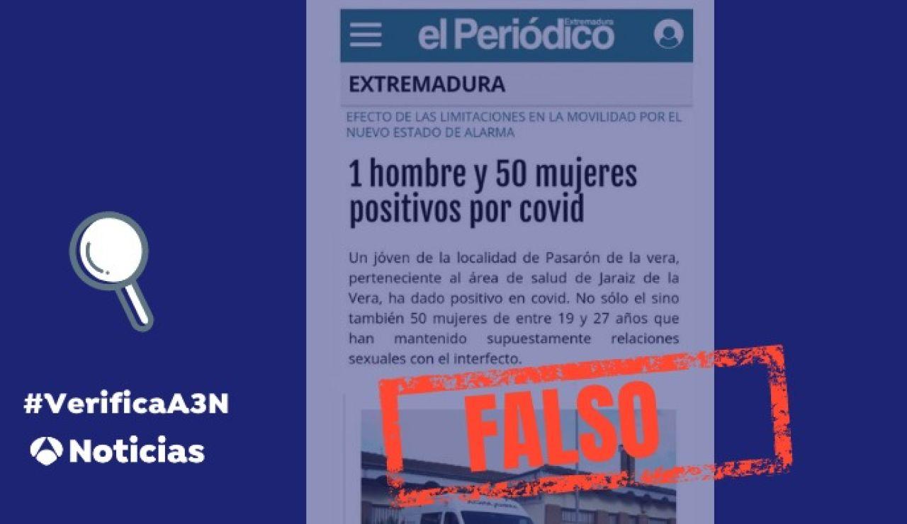 El bulo de la supuesta orgía en Extremadura