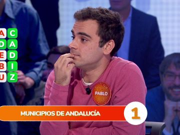 Un municipio andaluz complica la 'Sopa de Letras' del equipo naranja en 'Pasapalabra'