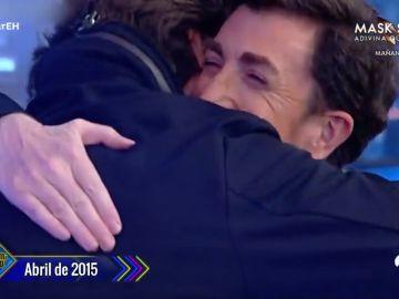 """El regalo de Russell Crowe que dejó totalmente impactado a Pablo Motos en el año 2015: """"Estoy hasta nervioso"""""""