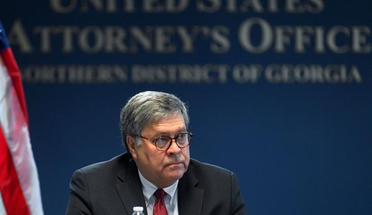 El fiscal general de EE.UU., William Barr, autoriza a los fiscales a investigar el supuesto fraude electoral que denuncia Trump