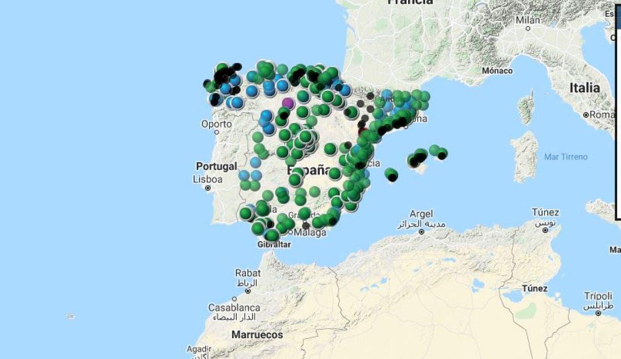 Comprueba el nivel de contaminación en España en tiempo real en este mapa interactivo