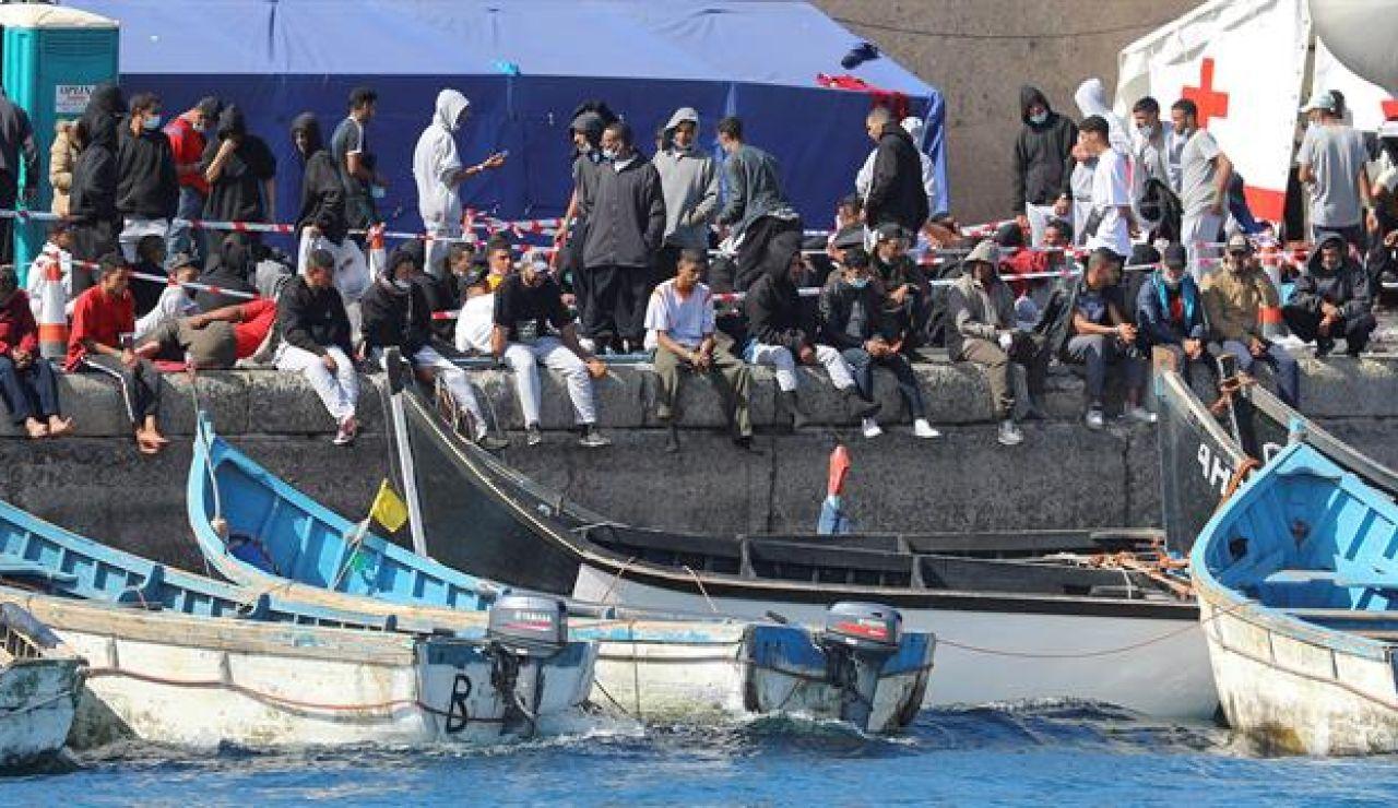 Tres nuevas pateras con un total de 98 inmigrantes han sido rescatadas al sur de la isla de Gran Canaria por Salvamento Marítimo