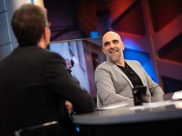 'El efecto Tosar', Pablo Motos sorprende a Luis Tosar con la teoría sobre los actores que ruedan por primera vez a su lado