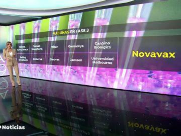 La vacuna del coronavirus de 'Novavax', una de las once del mundo en fase 3, se fabrica en O Porriño (Pontevedra)