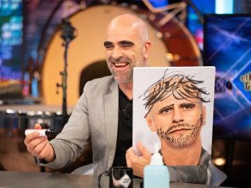 ¿Cuánto cambia una persona sin pelo? Luis Tosar y Pablo Motos lo descubren de forma muy original en 'El Hormiguero 3.0'