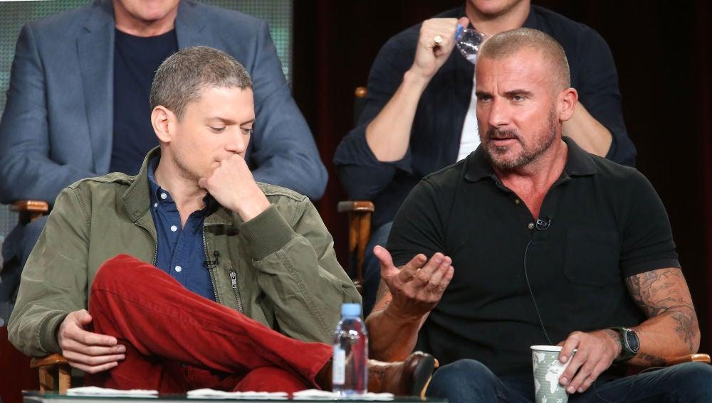 Wentworth Miller y Dominic Purcell, protagonistas de 'Prison Break'
