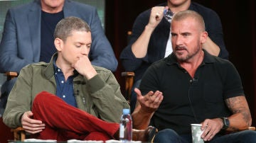 Wentworth Miller y Dominic Purcell, protagonistas de 'Prison Break'