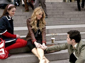 Blair, Serena y Dan en 'Gossip Girl'