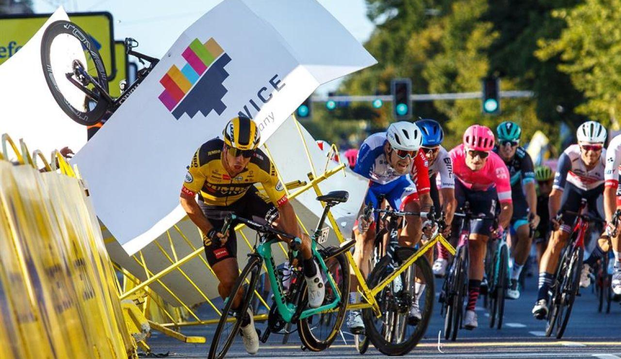 Groenewegen, suspendido 9 meses por provocar la terrible caída de Jakobsen en el Tour de Polonia