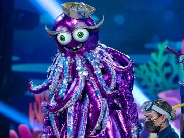 El Pulpo se deja los 'Cinco Sentidos' al ritmo de Dvicio en 'Mask Singer'