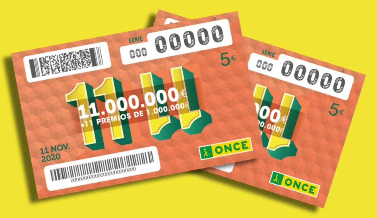 Sorteo 11 del 11 de la ONCE 2020: Comprobar número del sorteo extraordinario de hoy