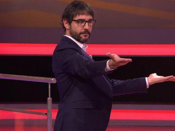"""""""¡Gracias!"""": Juanra Bonet aplaude el baile con el que 'Los forasteros' lo dan todo en '¡Boom!'"""