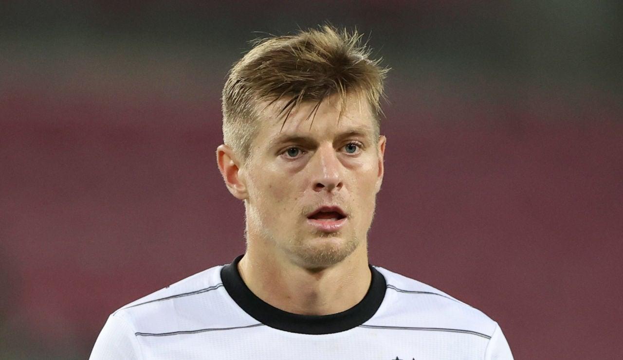Toni Kroos, en un partido con Alemania