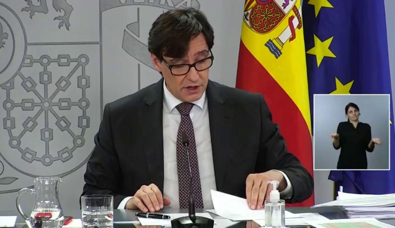 """Salvador Illa sobre la prueba PCR a viajeros de países en riesgo por el coronavirus: """"Refuerza el carácter de destino seguro de nuestro país"""""""