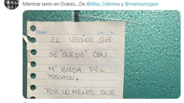 Tuit de @liosdevecinos