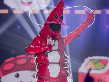 La Gamba arrasa en 'Mask Singer' con una actuación de altura al ritmo de 'I love it'