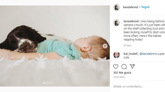 Instagram de @kenzieknnd
