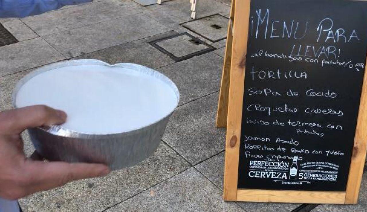 El Ayuntamiento de Pontecaldelas sufraga a sus bares los gastos del reparto a domicilio