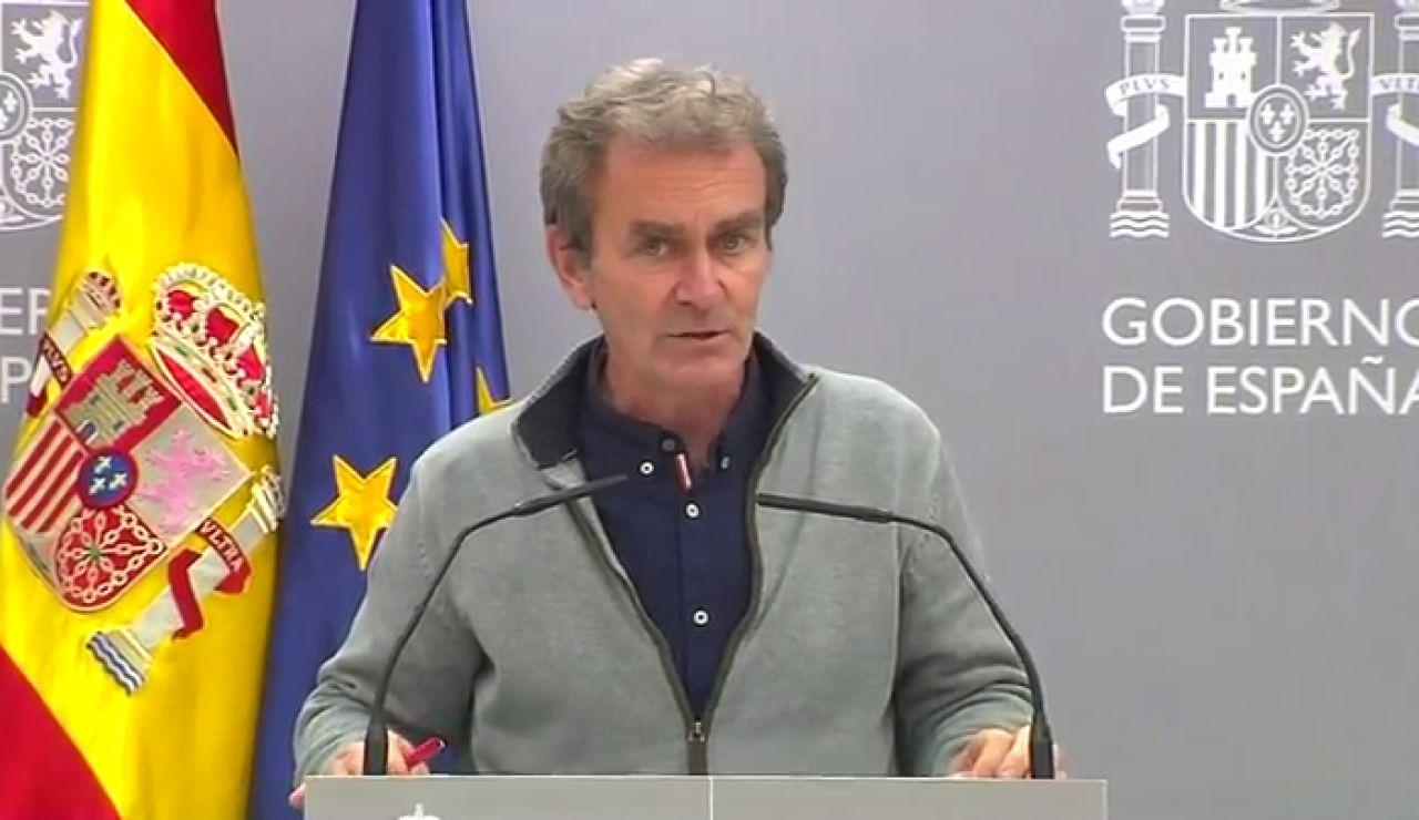 """La advertencia de Fernando Simón sobre el coronavirus: """"Para no llamar a engaños, la situación es muy complicada en España"""""""