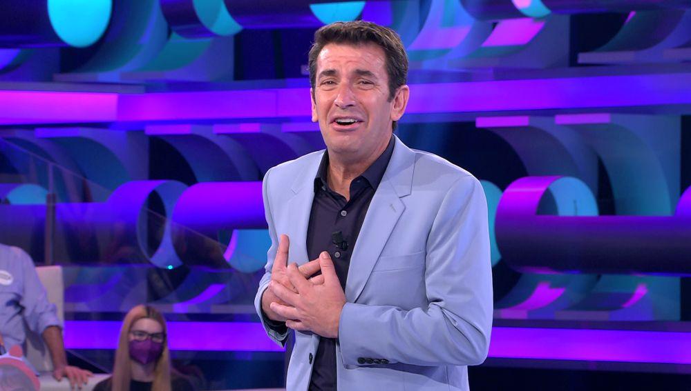 """La inesperada decepción de Arturo Valls con un fan millenial de '¡Ahora caigo!': """"¡Me acaba de romper el corazón!"""""""
