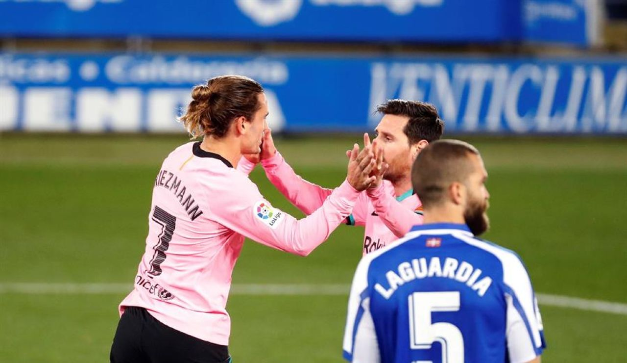 """Un tío de Griezmann acusa a Messi del bajo rendimiento del francés: """"Yo sé lo que pasa dentro, no es fácil"""""""