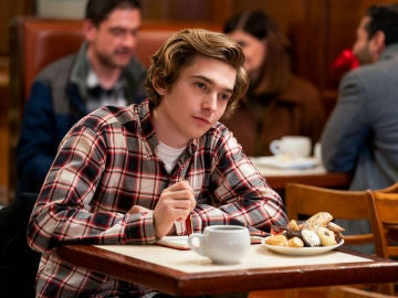 Austin Abrams en 'Dash and Lily'