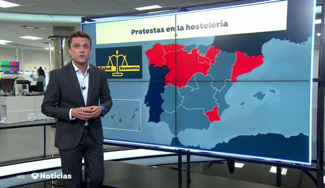 La hostelería pide un rescate urgente de 8.500 millones de euros para hacer frente a la crisis del coronavirus