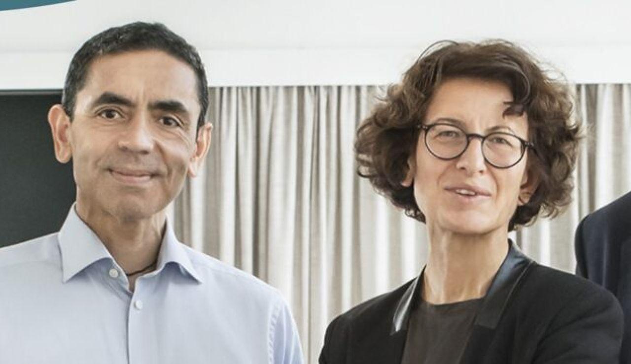 El matrimonio turco de origen humilde que hace posible la vacuna de Pfizer contra el coronavirus