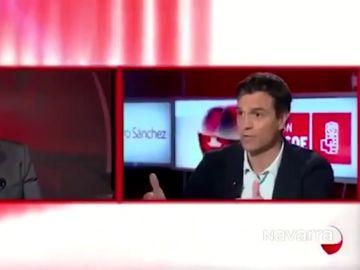 Pedro Sánchez en una entrevista en 2015