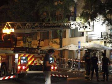 Imagen de la vivienda en la que se declaró el incendio