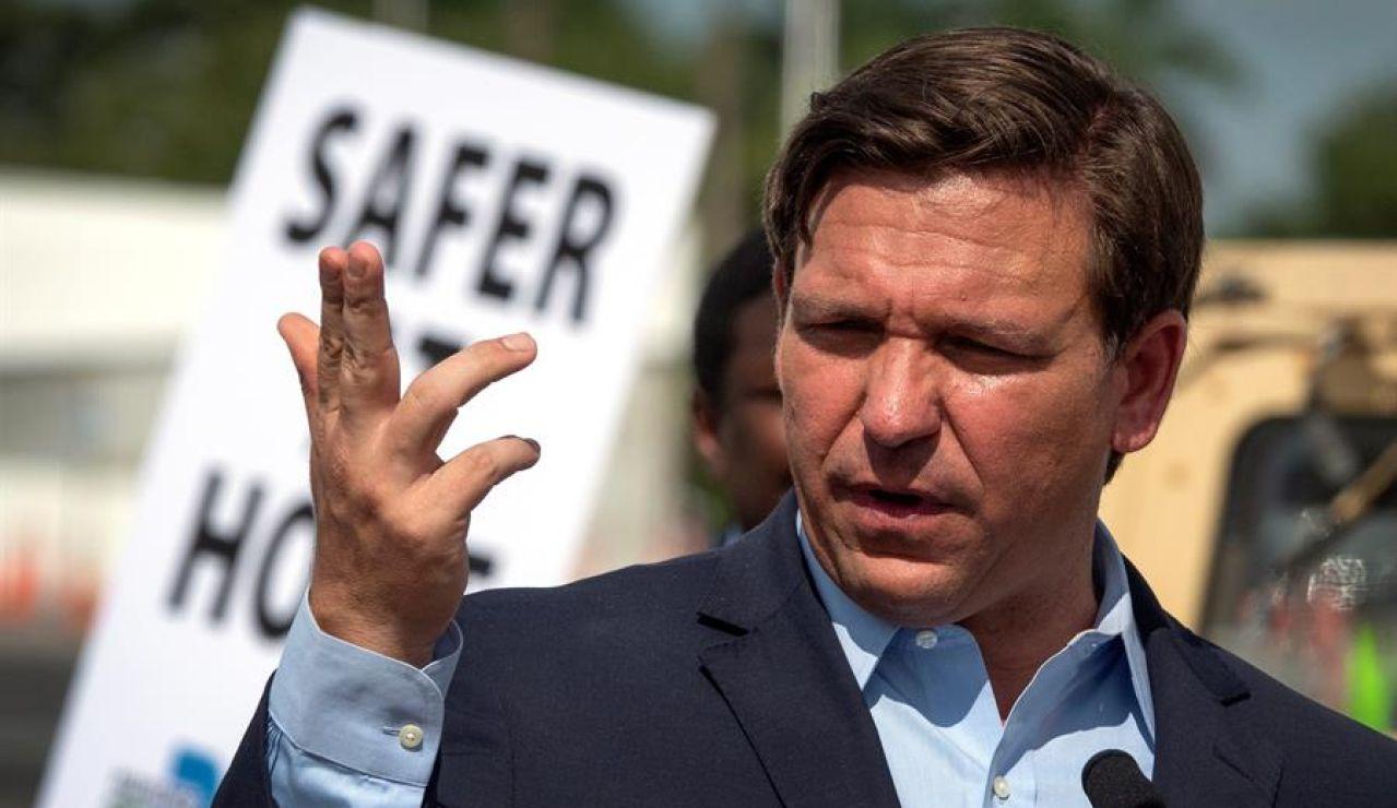 Ron DeSantis, gobernador de Florida.