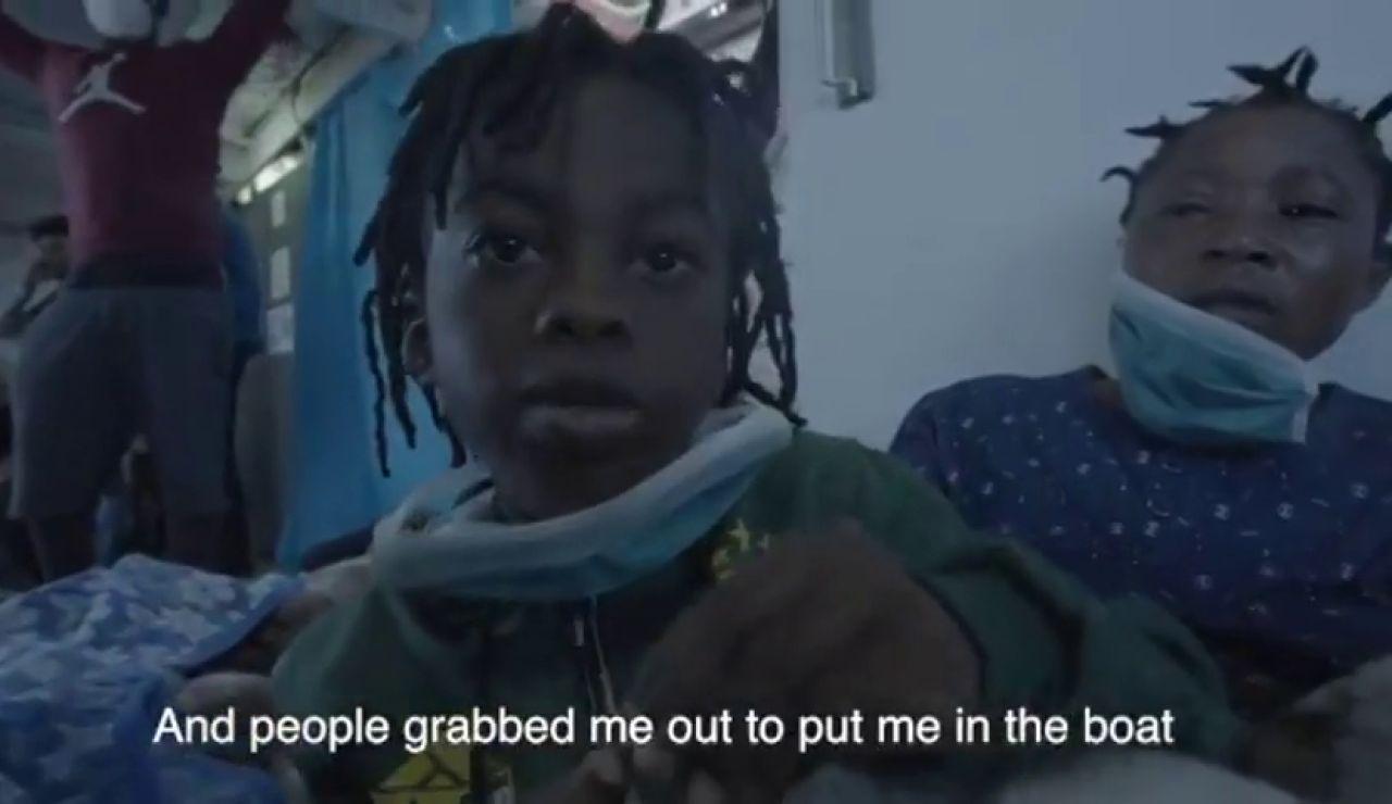 El doloroso testimonio de un menor que ha perdido a su madre en el mismo naufragio donde falleció el bebé Joseph