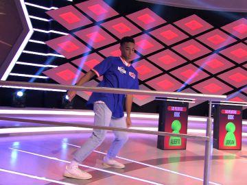 ¡Espectacular! Alberto, de 'Los pelotitas', sorprende bailando al ritmo de Bruno Mars en '¡Boom!'